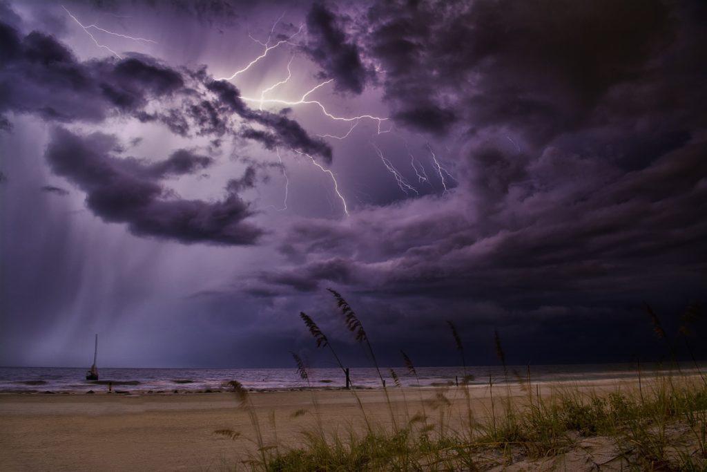 雷が落ちますよ!