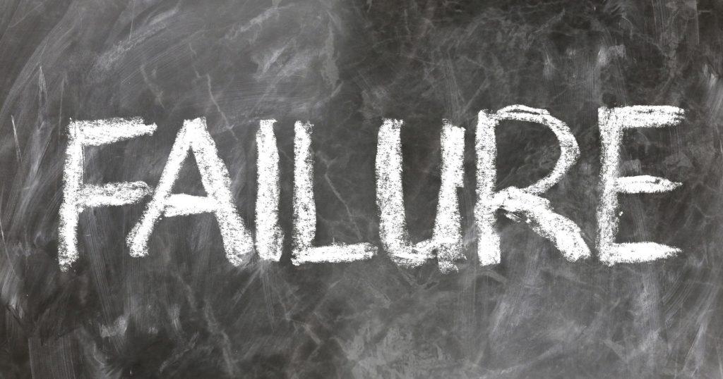 「Failure……つまり失敗。」