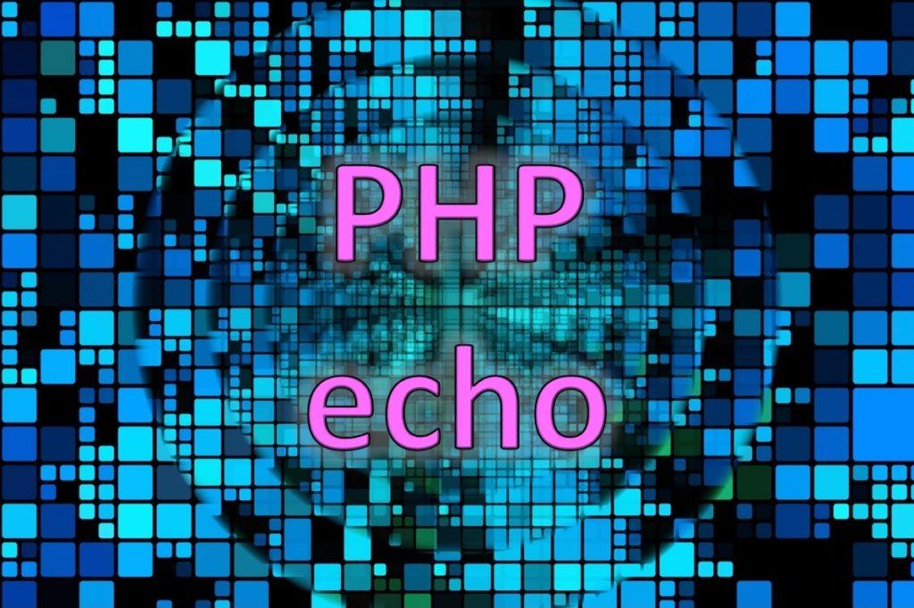 echoは基本中の基本です!