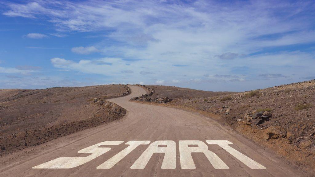 始まりの道