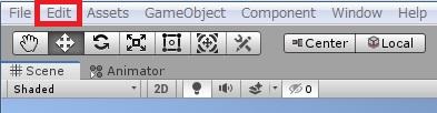 「Edit」をクリックします。